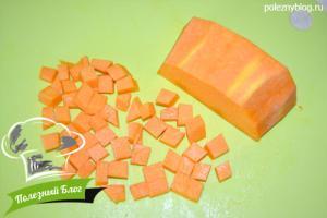 Тыквенный суп с курицей | Шаг 4