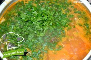 Тыквенный суп с курицей | Шаг 12