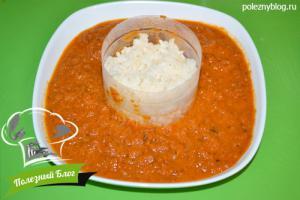 Томатный суп с рисом | Шаг 9