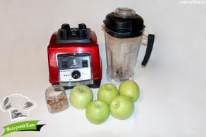 Яблочное пюре Неженка | Ингредиенты