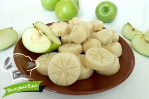 Заготовка яблочного пюре | Готовая
