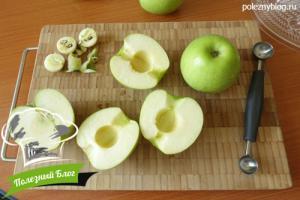 Заготовка яблочного пюре | Шаг 1