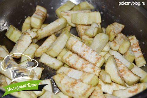 Овощное рагу с стручковой фасолью и