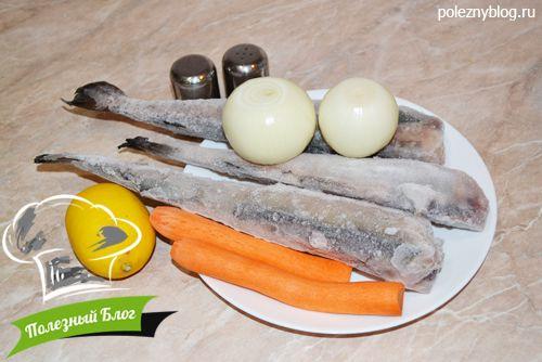 Минтай в рукаве в духовке рецепт