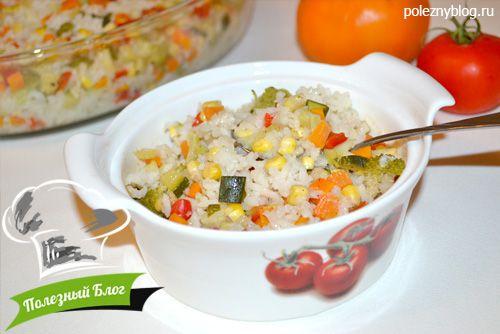 Рис с овощами в горшочках рецепты