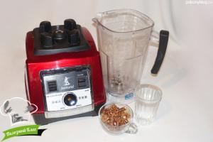 Молоко из грецких орехов | Ингредиенты
