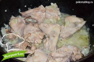 Курица тушёная с кабачками | Шаг 5