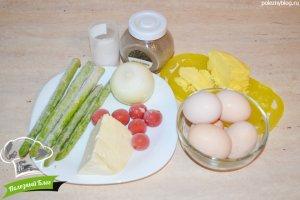 Фриттата со спаржей | Ингредиенты