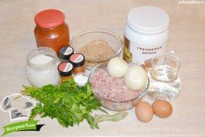 Гречаники без мяса | Ингредиенты