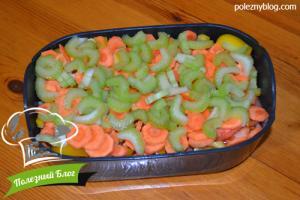 Курица с овощами в пароварке | Шаг 11