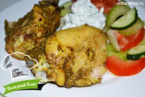 Куриные бёдра в духовке | Готовые