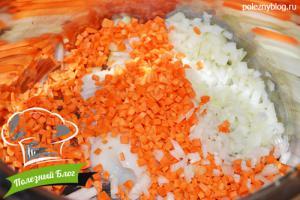 Овощной суп с яйцом   Шаг 3