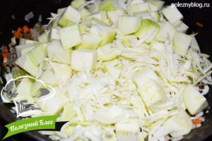 Овощное рагу с фаршем | Шаг 10
