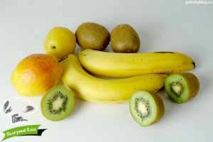 Пастила из киви, банана, груши | Ингредиенты