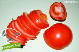 Салат из помидора, огурца и сельдерея - Шаг 3