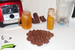 Шоколадная колбаска с орехами | Готовая