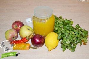 Соус «Сальса» из яблок | Ингредиенты