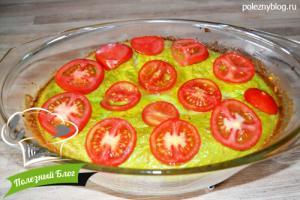 Зелёное яичное суфле со шпинатом и укропом | Шаг 14
