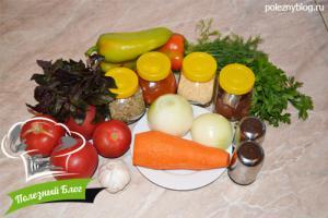 Томатный соус | Ингредиенты